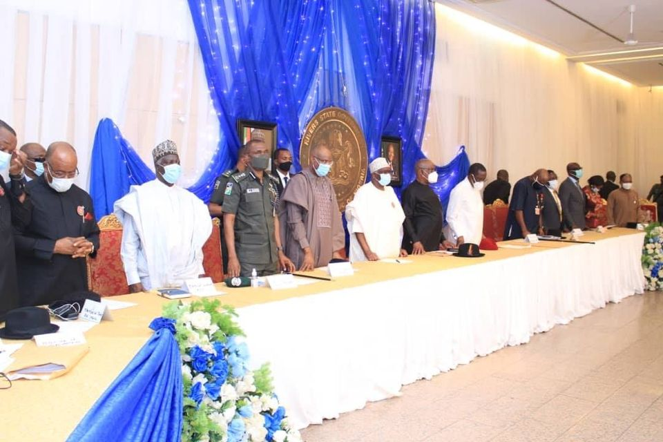 South South Governors, Leaders meet Presidency, Demands Restructuring