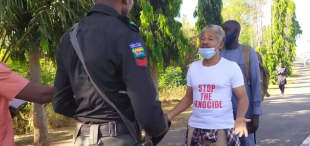 Genocide: Nigeria man goes to meet Buhari in Aso Villa, Arrested by DSS