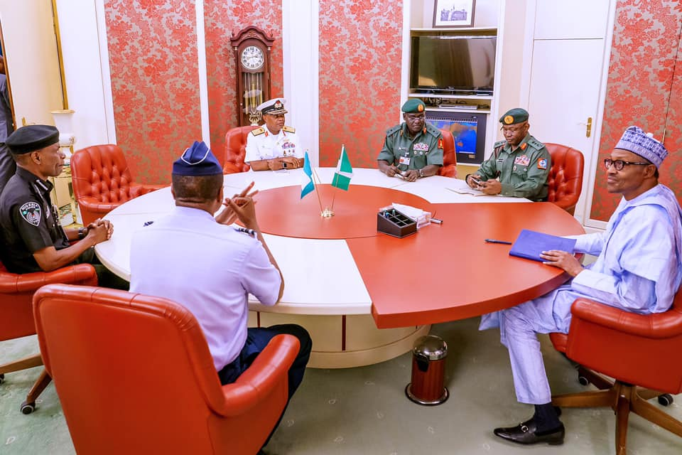 I'm Satisficed with Service Chiefs - Buhari