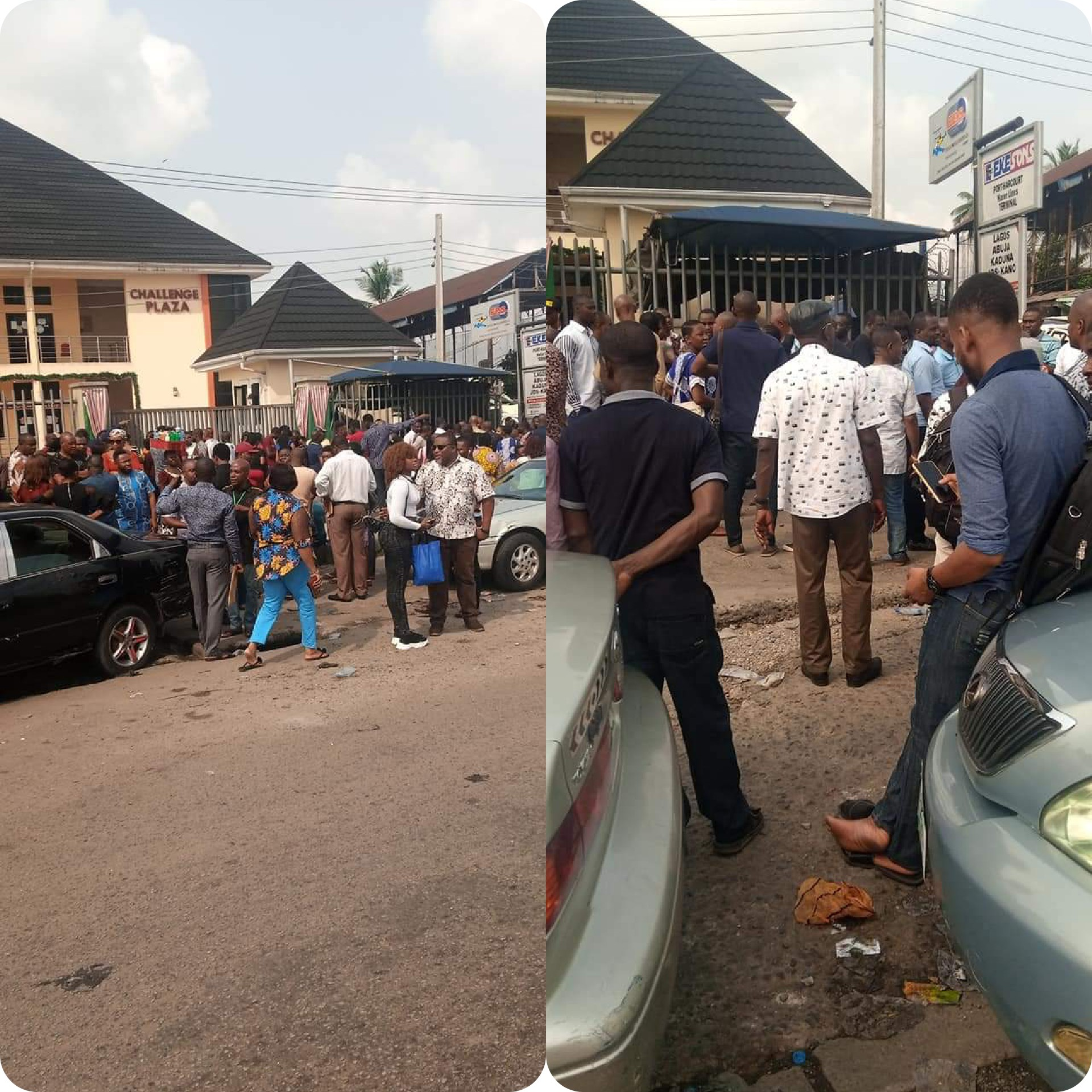 MBA forex owner, workers on the run as angry investors storm Officeq