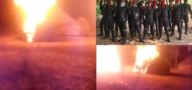 """Eastern Security Network Invades """"Fulani Terrorist"""" camps burn down houses, Issues ultimatum to Umahi"""