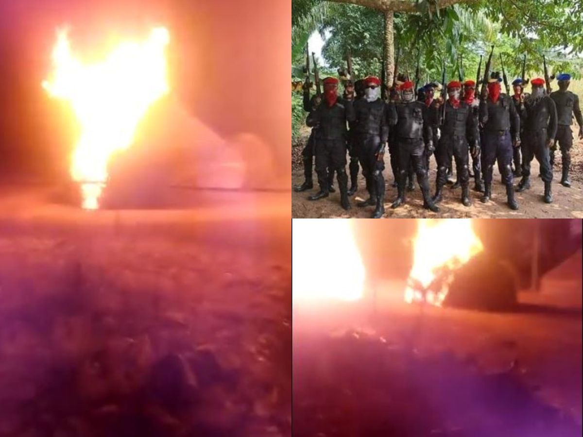 "Eastern Security Network Invades ""Fulani Terrorist"" camps burn down houses, Issues ultimatum to Umahi"