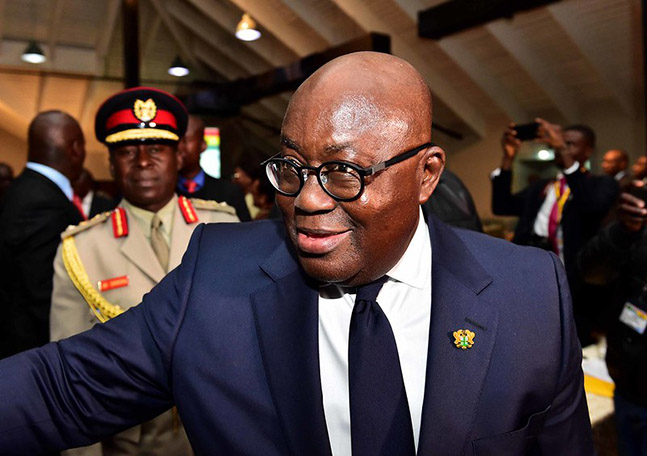 Ghana Elections: Akufo-Addo re-elected as president