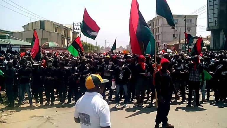 We don't buy arms, we produce locally, IPOB tells DSS