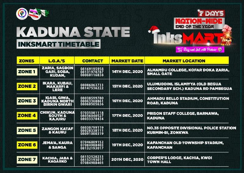 Inksmart: Inksnation Market In Nigeria - Where to Shop this December 2020 2