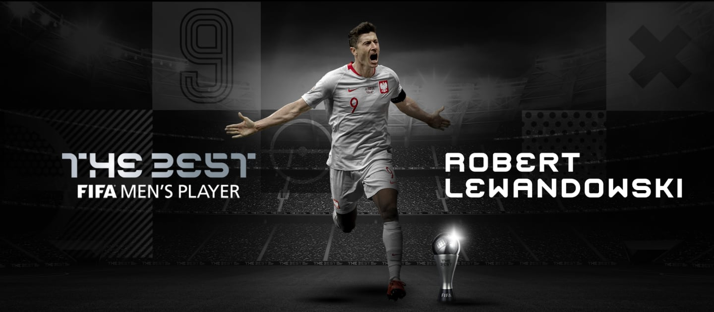 Robert Lewandowski Best FIFA Man of the Year