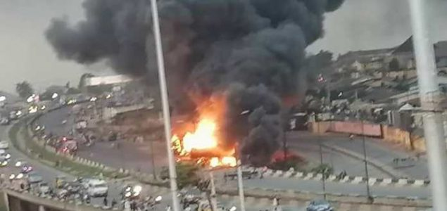 Otedola Bridge Petrol Tanker Explosion: All You need to know