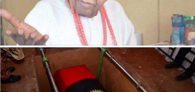 Colonel Emmanuel Nwobosi Is Laid To Rest