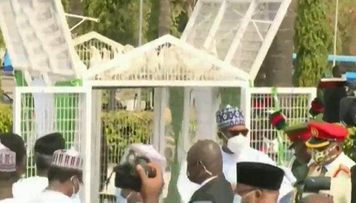 buhari,Buhari pigeons,Buhari pigeons armed forces remeberance day,Buhari news,buhari latest news,buhari news today