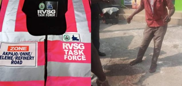 Few Hours after Rivers Task Force Relaunch, They beat Taxi Driver to Stupor