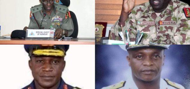 Nigeria's New Service Chiefs