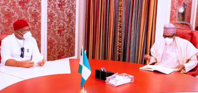 Uzodimma: Eastern Security Network serious firing power made me ask Buhari for military support in Orlu