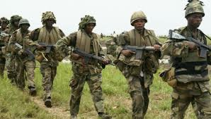 Nigeria Army currently in Fierce Battle with Eastern Security Network In Nsukka