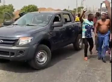 40 Manned Nigerian Joint Security Forces attempts to arrest Sunday Igboho