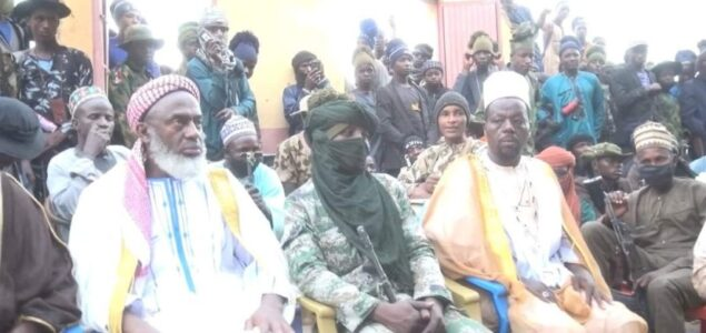 Sheikh Gumi visit two Bandits Enclave at Shinkafi Forest, urges for cease fire