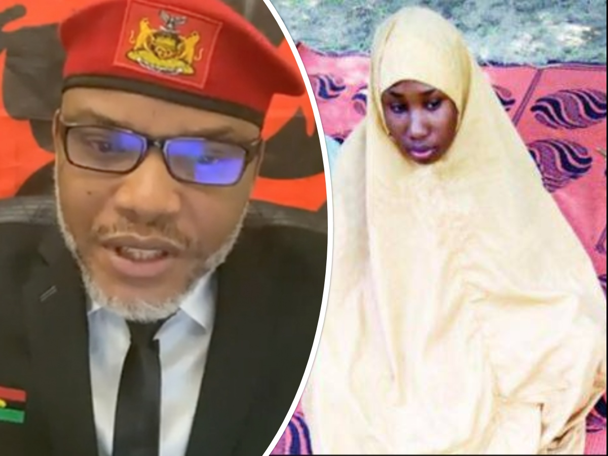 Leah Sharibu: Nnamdi Kanu bans CAN meeting in Old Eastern Nigeria, Calls for Abolishment