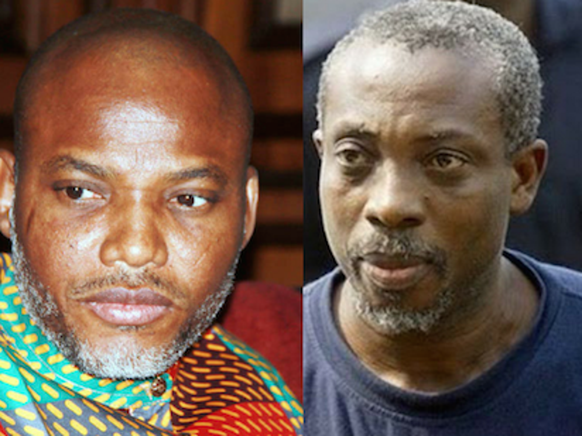 Nnamdi Kanu replies Ralph Uwazurike For telling him to Handover ESN to Governors