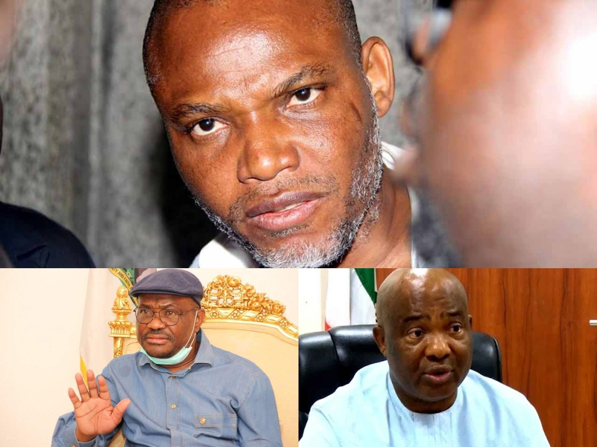 If Wike, Hope Uzodinma Does not Die then Know that I am Not Nnamdi Kanu