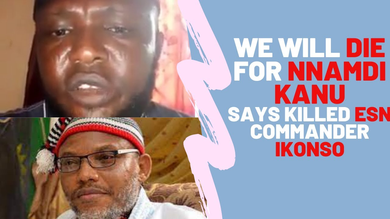 FLASHBACK: Commander Ikonso expressing his undying love For Mazi Nnamdi Kanu 2019