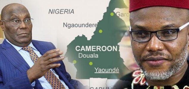Atiku became Nigerian through Referendum, Biafrans needs same Referendum - Nnamdi Kanu tells Malami