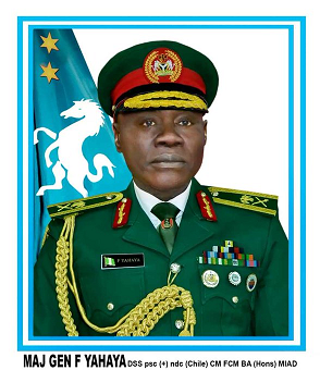 Nigeria Presidency appoints Yahaya as new COAS