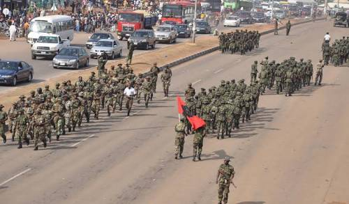 Nigerian Army Begins Seven-Day Show-Of-Force In Imo To Nab IPOB, ESN Operatives