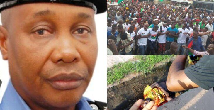 Nigeria Police Boss Declares War Against Unarmed Biafra Agitators
