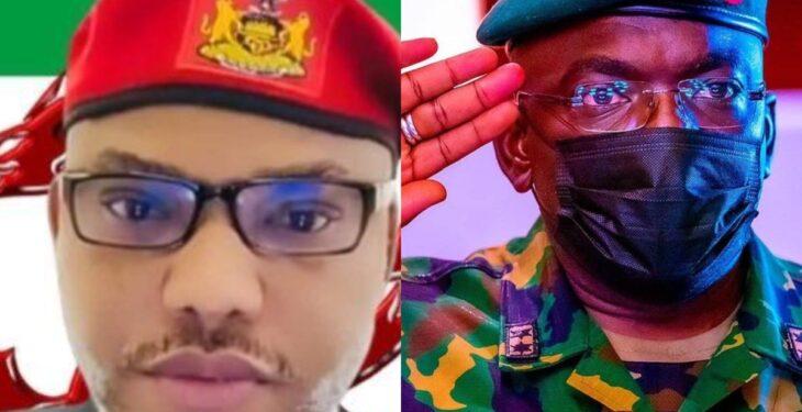 Nnamdi Kanu reacts to death of Nigeria Chief of Army Staff Attahiru