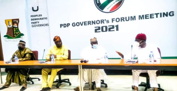 Restructure Nigeria, summon emergency meeting on insecurity – PDP Govs to Buhari