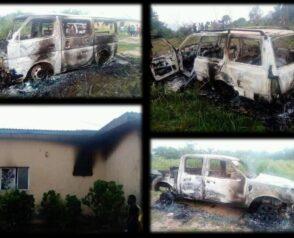 Unknown Gunmen attack Ubani Police Station in Abia