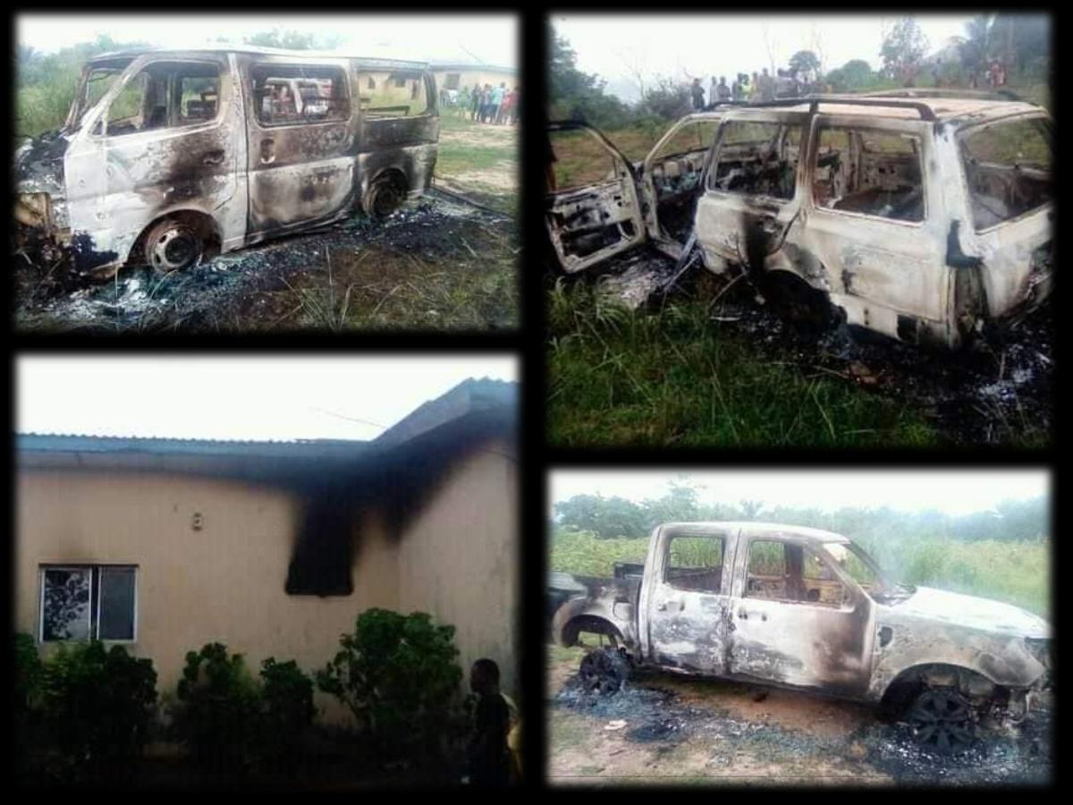 Six Policemen feared killed as gunmen attack Odoro Ikpe, Akwa Ibom police station