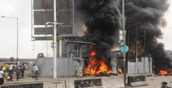 INVESTIGATIONS: The Main Reasons Nigerians Are Burning Down Police Stations, Killing Officers, others
