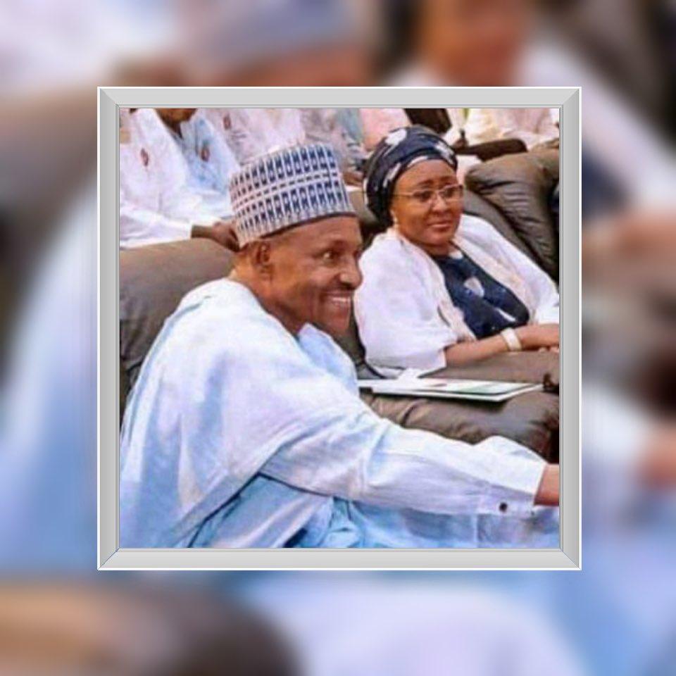 Fake Buhari with Aisha Buhari