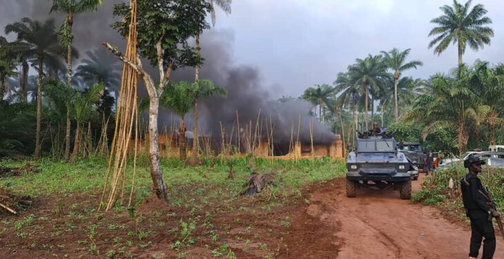Police kill suspected IPOB/ESN members, overrun three camps in Imo