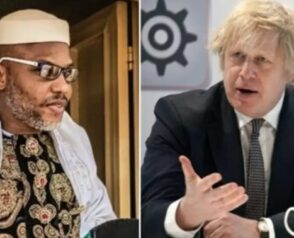 Nnamdi Kanu was arrested in Kenya – younger brother