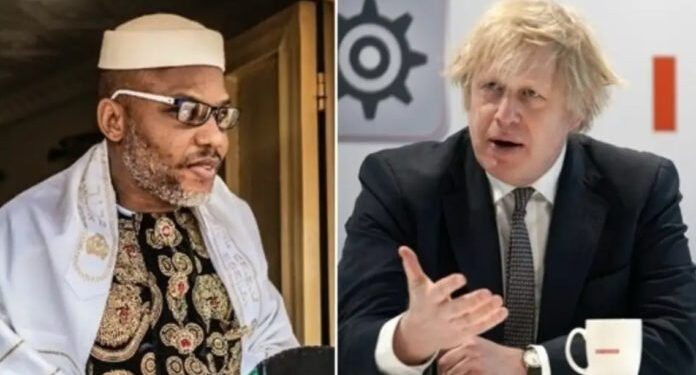 Nnamdi Kanu not arrested in UK - UK reacts to IPOB leader re-arrest