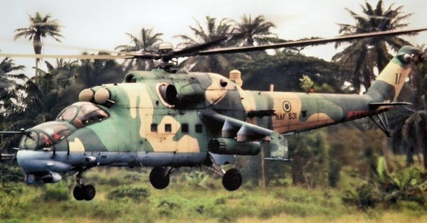 Air Force Bombs Suspected ESN Camps In Illah, Delta State